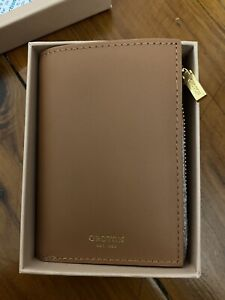 BRAND NEW OROTON WALLET - holds UP TO TEN CARDS - ORIGINALLY $129