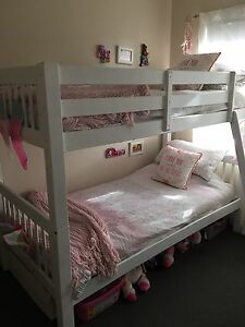 **KING SINGLE BUNK BEDS** Solid Timber Frame Middle Park Brisbane South West Preview