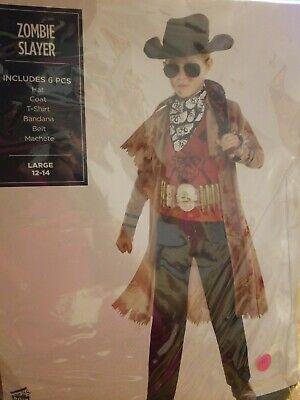 Zombie Slayer Costume Child Large #244