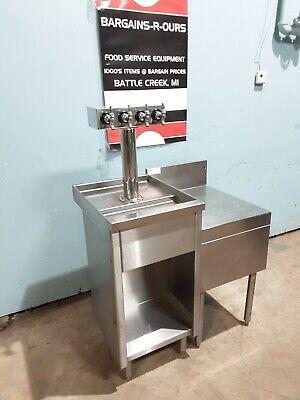 Glas Tender Fbb18 Commercial Stainless Steel Beer Keg Bar Tower Spigots