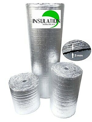 Smartshield -3mm Reflective Insulation Roll Foam Core Radiant Barrier Aluminum