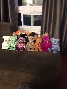 Perfect condition- beanie baby collection 23 included