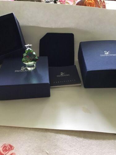 Swarovski Crystal 9460 200 011 Small Felix Christmas Tree  Figurine with box