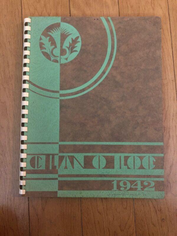 1942 Piedmont High School Yearbook - California