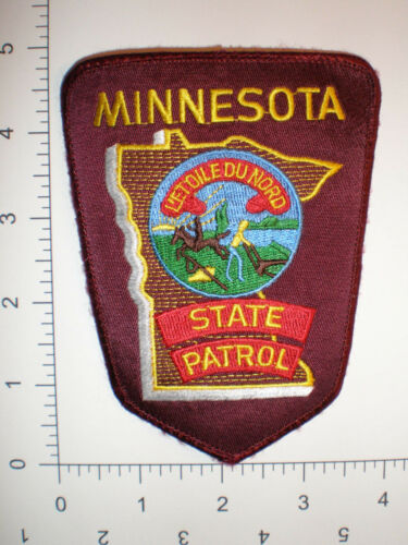 MN Minnesota State Highway Patrol Trooper Police REFLECTIVE patch