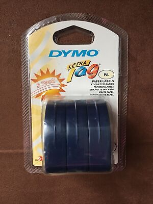 Dymo Letratag Pa Paper Labels 3 Pack White Paper Brand New Sealed 10697 New Nib