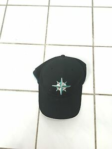 Seattle mariners stretch fit hat worn once size medium large