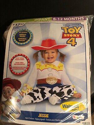 Baby Girls Halloween Costume (Halloween Costume Boy Girls Infant Toy Story 4 Jessie 6-12 Months)