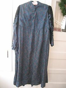 antique early1900s made vintage silk lace dress