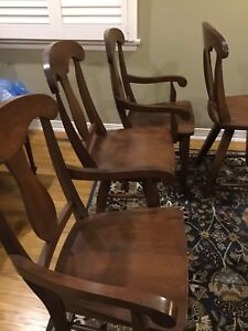 Solid cherry chairs