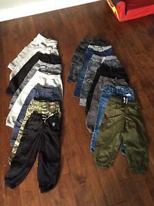 Pantalon, gilet, pyjama, garçon 4 ans(lot)