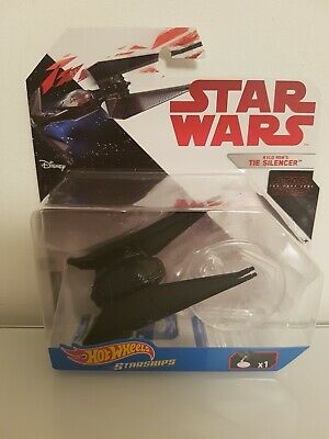 "Hot Wheels Star Wars Starships ""The Last Jedi"" Series - Kylo Ren's Tie Silencer"
