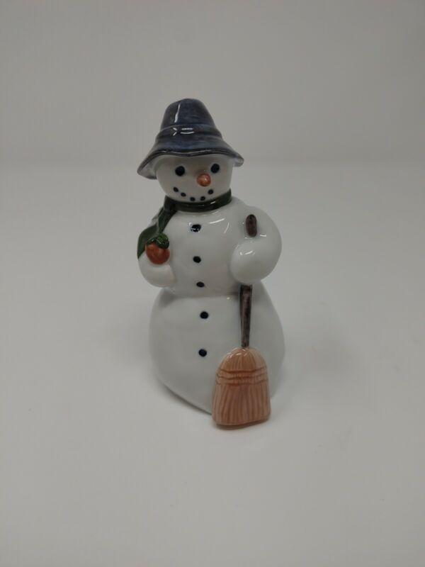 """Royal Copenhagen 4.75"""" Snowman Porcelain Figurine #158 by Kelsey Sterett"""