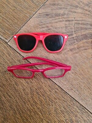 X2 Our generation  AMERICAN girl  accessories AG OG glasses , used for sale  Shipping to Nigeria