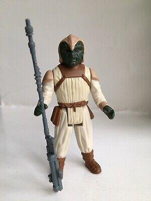 Vintage Star Wars Figure Klattu Skiff Guard Complete Original..