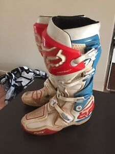 Fox racing moto boots size us12