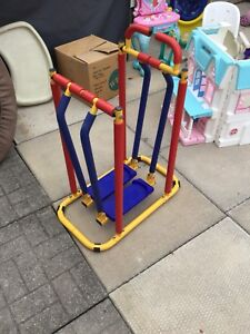 Kids exercising machine