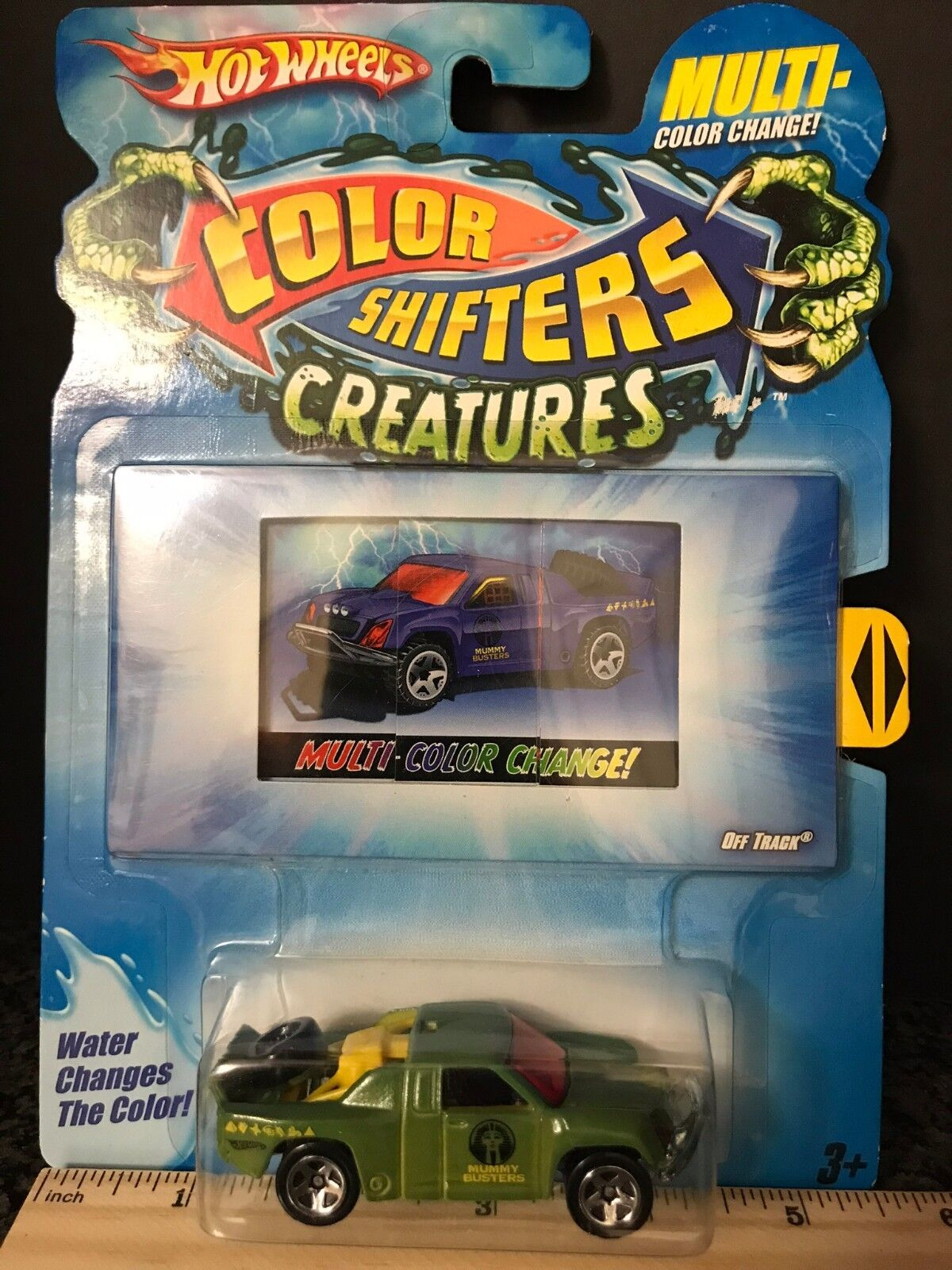 *OFF TRACK * Hot Wheels COLOR SHIFTERS CREATURES NEW Off Roa
