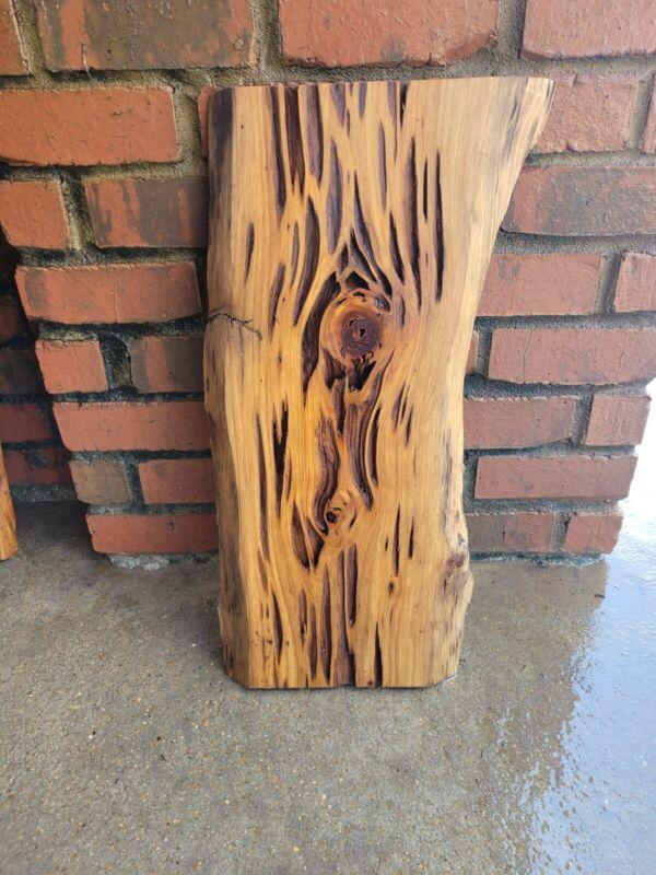 "Sinker Pecky Cypress Taxidermy Craft Diy Project Wood Approx 25""×10.5-12.5""×1"""