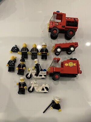 Vintage lego figures Fire And police