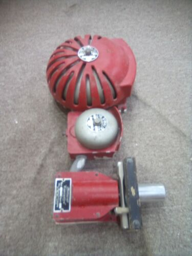 The Autocall Co. SHELBY O USA Vintage Alarm Bell Fire Alarm Bell