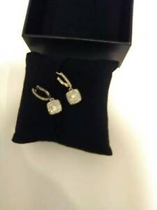 Genuine Diamond Earring Stunning Made in Italy