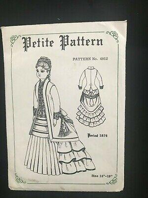 Petite Pattern #4012 Size 18