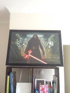 Star wars framed poster Landsdale Wanneroo Area Preview