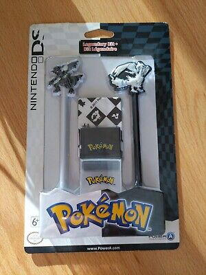 Nintendo DS Pokemon Legendary Kit Stylus, Game Case + Cloth Reshiram and Zekrom