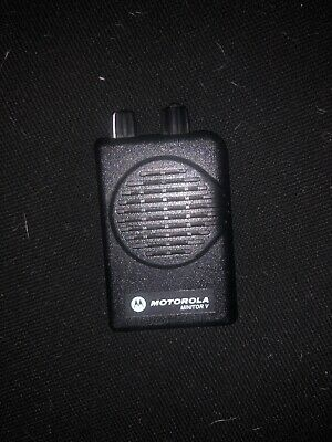Motorola Minitor V Stored Voice 151-158.9 Mhz Vhf Two Channel Fire Ems Pager