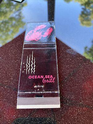 Ocean city Grill, Bridgeport, Connecticut match book cover