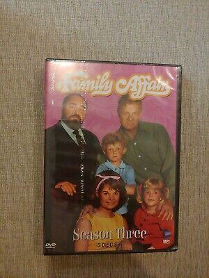 Family Affair - Season 3 (DVD, 2007, 5-Disc Set)