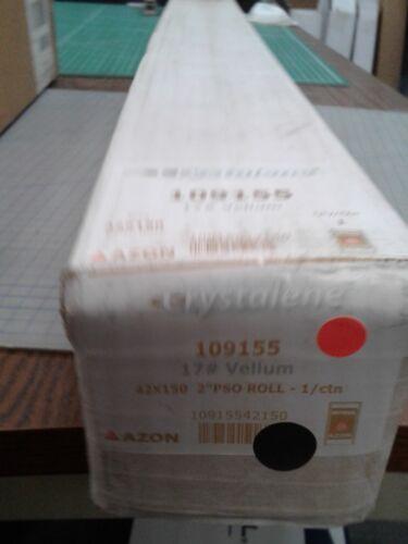 "Crystalene Azon 17# Vellum 109155 42 x 150 2""core"