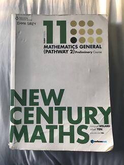 New Century Maths 11 - Maths Generam