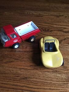 Tonka Truck and Car