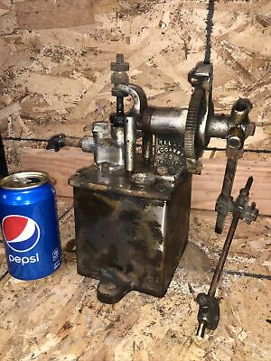 Antique Hills Mccanna Ratchet Lubricator Oiler Hit Miss Steam Tractor Engine