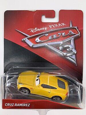 Disney Pixar Mattel Cars 3 Die-Cast Cruz Ramirez Race Car Toy Vehicle