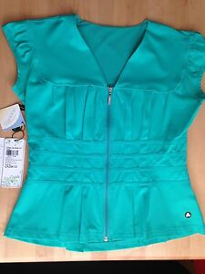 NEW (tags off) Titika (like lululemon) dressy active wear top