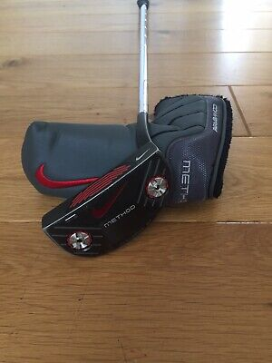 "Nike Method Converge Putter /w Headcover / 34"" Inch / Used Golf Club / RH"