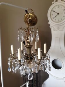 Brass Crystal Chandeliers | Buy & Sell Items, Tickets or Tech in ...