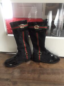 REAL Gucci spring/fall boots (black)