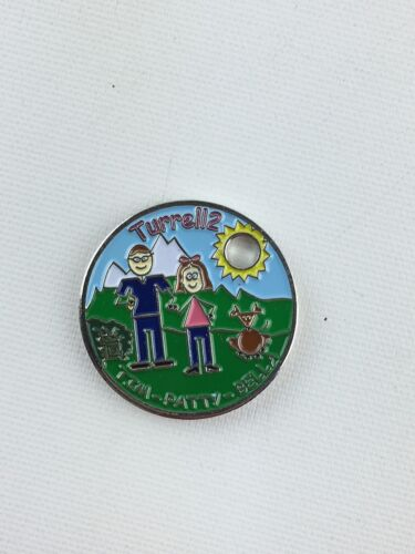 Pathtag Geocoin Geocache Tag #17342 Team Turrell2 By: turrell2, Version 2