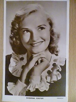1940s Vintage Picturegoer POSTCARD - Susanna Foster