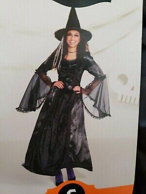 Halloween Women's Witch Black Dark Antoinette Halloween Costume S M Hyde and Eek](Dark Witch Costume)