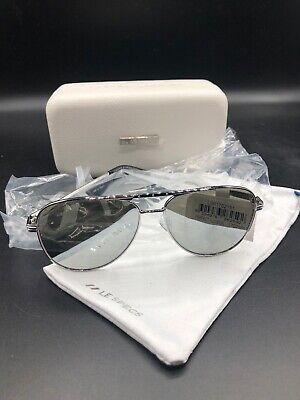 ☀️ Le Specs Silver Aviator Sunglasses Perfect Illusion New Fast Free S/H (Sunglasses Illusion)