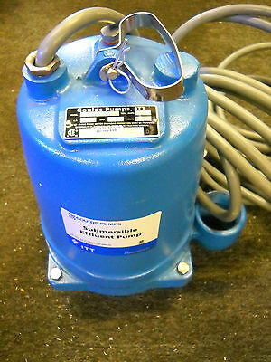 Goulds Pumps We0538h Submersible Effluent Pump 12 Hp 200v New Condition No Box