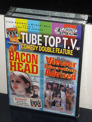 Tubetop T V    Comedy Double Feature Dvd  Bacon Head   Viewer Discretion Advised