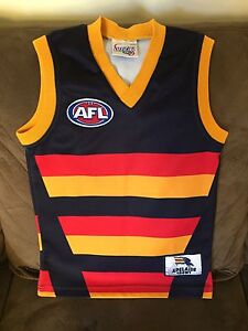 Adelaide Crows guernsey - kids size 4 Hillbank Playford Area Preview