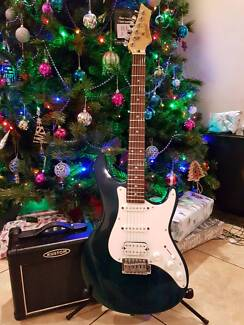 Ashton Electric Guitar and Amp Package