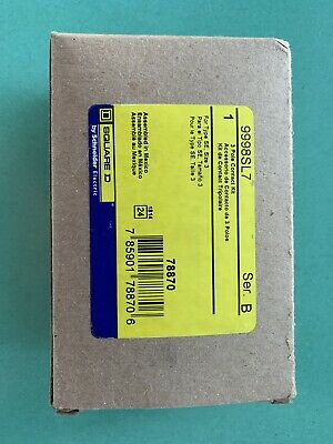 Motor Starter Contact - SQUARE D Motor Starter Size 3 Contacts 9998SL7 Brand New In Box